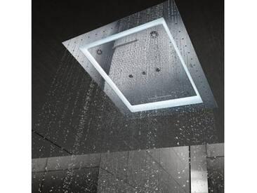 Grohe Rainshower F-Series 40 AquaSymphony Deckenbrause 6+ Strahlarten mit Licht 26373001, EEK: A+