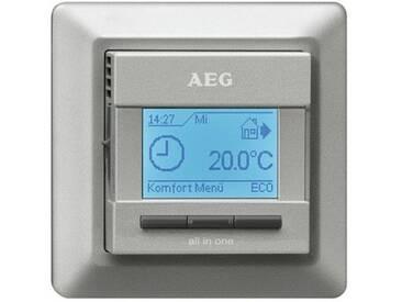 AEG FRTD 903 S Elektronischer Komfort-Raum- und Fußbodentemperaturregler all-in-one, silbe 231682