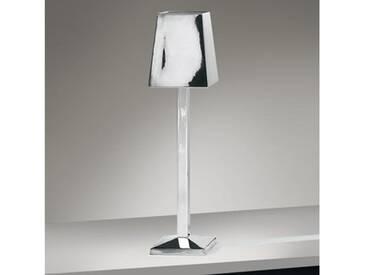 Lambert PALLADIO Tischleuchte mit Dimmer B: 19 H: 73 T: 19 cm, nickel poliert 47319, EEK: A++