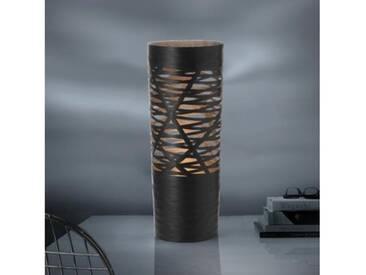 Foscarini Tress Tischleuchte mit Dimmer Ø 23 H: 61 cm, schwarz 18200120, EEK: C