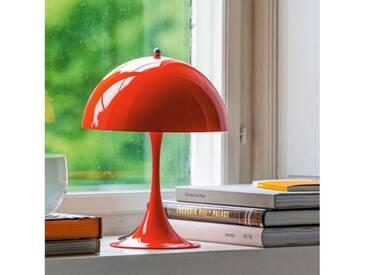 louis poulsen Panthella Mini LED Tischleuchte mit Dimmer Ø 25 H: 33,5 cm, rot 5744162490, EEK: A+