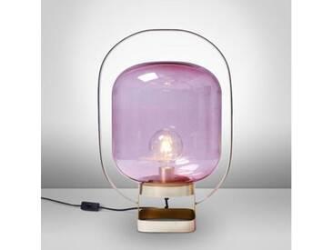 KARE Design Jupiter Pink-Brass Tischleuchte B: 35 H: 128 T: 30 cm 61397, EEK: A