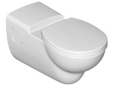 Ideal Standard Contour 21 Wandtiefspülklosett barrierefrei ohne Spülrand L: 70 B: 36 cm weiß S306901