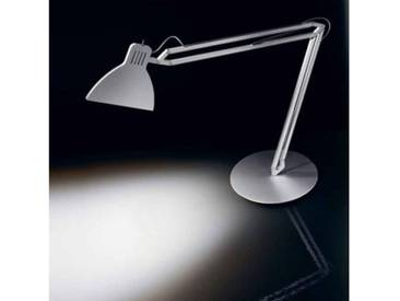 Ingo Maurer Looksoflat LED Tischleuchte Aluminium silber 7030110, EEK: A+