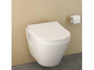 VitrA Integra Wand-Flachspül-WC L: 54 B: 35,5 cm weiß 7064L003-0075