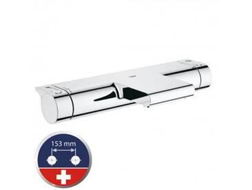 Grohe Grohtherm 2000 Thermostat-Wannenbatterie für die Schweiz, für Wandmontage 34178001