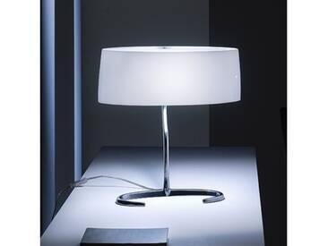 Foscarini Esa 07 grande Tischleuchte B: 44 H: 47 T: 21 cm, aluminium poliert/weiß 075001-R211, EEK: A++
