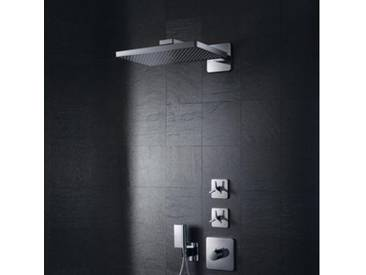 AXOR ShowerSolutions 460 / 300 1jet Kopfbrause mit Brausearm, mit Softcube Rosette 35274000