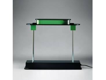 Artemide Pausania LED TW Tischleuchte mit Dimmer B: 48 H: 43 cm, schwarz/grün 1081010A, EEK: A+