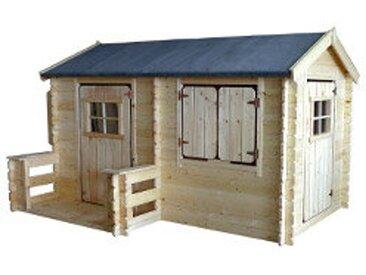 Kinderspielhaus aus Holz CAMILLE
