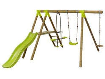 Doppelschaukel MAKI aus Holz   4 Geräte