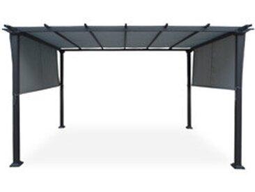 Pavillon mit verstellbarem Dach LANDES 3 x 4 m