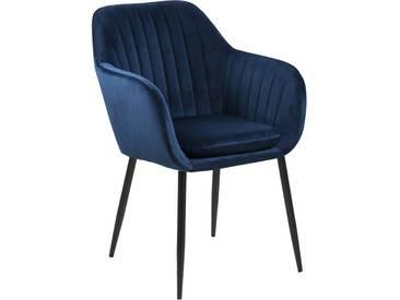 Stuhl Blau (Velous) - Mila