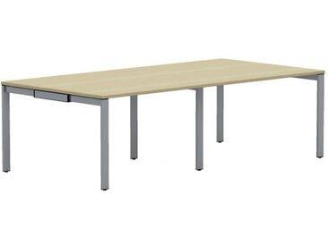 WORK Konferenztisch, rechteckig, 120cm tief