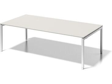 BISLEY CITO Konferenztisch U-Gestell, höhenverstellbar, b240xt120xh65-85cm