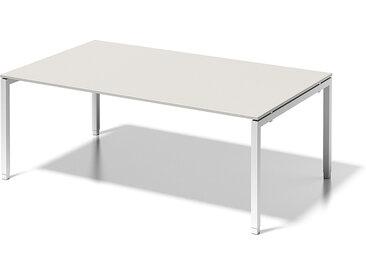 BISLEY CITO Konferenztisch U-Gestell, höhenverstellbar, b200xt120xh65-85cm