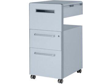 BISLEY BITE Assistenzmöbel, Caddy mit Whiteboard, 2 Schubladen