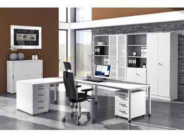 EXPRESS H-Serie Büromöbel Set, 1 Arbeitsplatz, 400x350cm