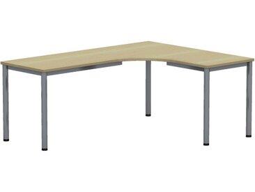 EXPERT Kompakttisch mit Rundrohrgestell, Anschlußmaße 60/60cm