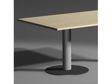 GERAMÖBEL Konferenztisch-Element mit Tellerfüßen, rechteckig
