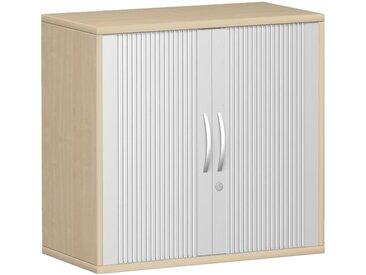 GERAMÖBEL PRO 2-OH Querrollladen-Anstellschrank, 80cm