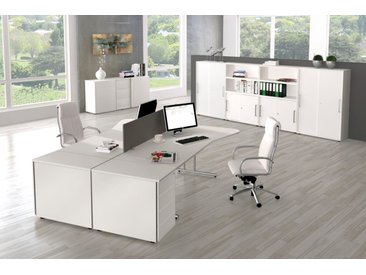 START UP Büromöbel Set, 2 Arbeitsplätze 500x500