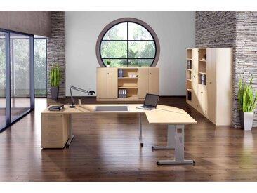 EXPRESS O-Serie Büromöbel Set, 1 Arbeitsplatz, 400x400cm
