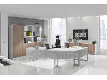 EXPRESS R-Serie Büromöbel Set, 1 Arbeitsplatz, 400x400cm