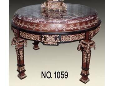 Barock Tisch Prunk rund Rokoko LouisXV MoTa1059R
