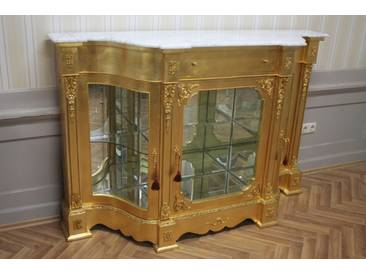Barock Kommode Schrank Antik Stil Klassizismus MoMo1205GoWe