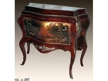 Barock Kommode mit Bemalung, Antik Stil Gemälde, Bild MoPa0397