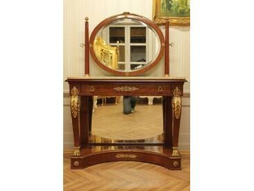 Barock Schmink-Tisch Antik Stil Rokoko Louis XV MoBd07706