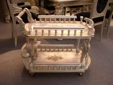 Barock Tisch Teewagen Antik Stil Vp5325