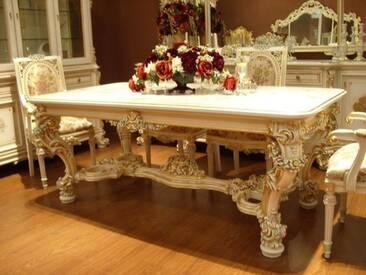 Barock Esszimmer - Tisch in Venetian Barock Vp9905-2