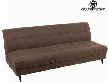 Loft dreisitzer braunes sofa - Love Sixty Kollektion by Craftenwood