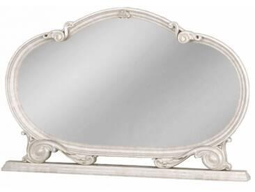 Spiegel Barock Julianna im Glanzrahmen in Beige