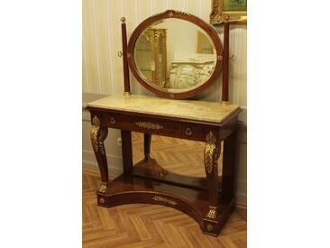 Barock Schmink-Tisch Antik Stil Rokoko Louis XV MoBd0770Bg