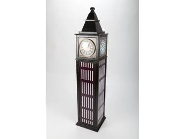 "point-home, Design-Schrank, Retro ""Big Ben"" mit Uhr"