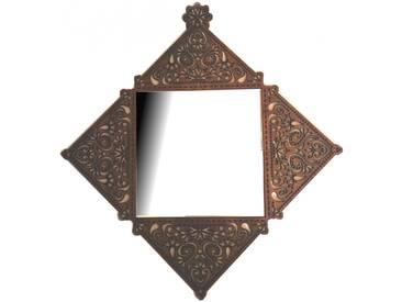Wandspiegel Spiegel im rustikalen Stil Holzrahmenspiegel Vintage Unikat