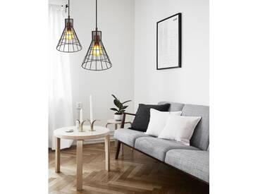 Metall Korb Lampe Industrie Leuchte Scandi Design Hängelampe Kupfer Leuchte