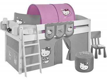 Lilokids Kinderbett Tunnel Hello Kitty in Lila