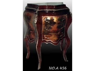 Barock Kommode mit Bemalung, Antik Stil Gemälde, Bild MoPa0456