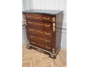 Barock Kommode Schrank LouisXV Antik Stil MkKm0099BGn