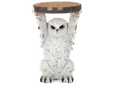 Beistelltisch animal Owl | Ø 35 cm, Kunststein | Kare 82828