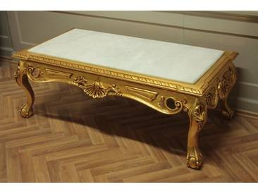 Barock Marmor Couchtisch Tisch Antik Stil Rokoko AlTa0253AWe