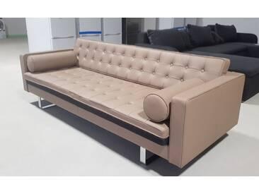 Fredriks Sofa Chelsea 3-Sitzer Echtleder 216 cm breit 68 cm hoch in Hagen