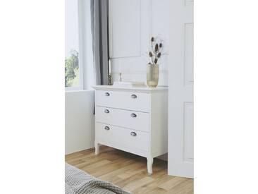 Landhaus Schubladenkommode Kommode Beistellkommode Sideboard Barock Stil 002590 provence 3 weiß