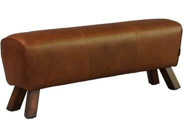 Fußhocker Buck Big Leder Vintage Cigar Hocker