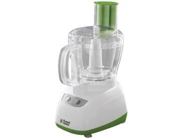 Russell Hobbs Küchenmaschine Kompaktküchenmaschine Zerkleinerer, weiß/grün