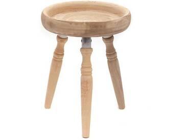 Beistelltisch cottage | Kare Design 81745 | 54 cm, Holz | Hocker